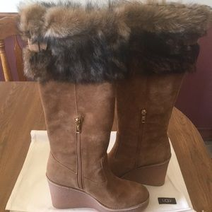 Ugg wedge heel boots